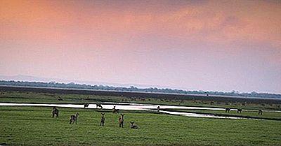 Parcs Nationaux Et Réserves Au Mozambique