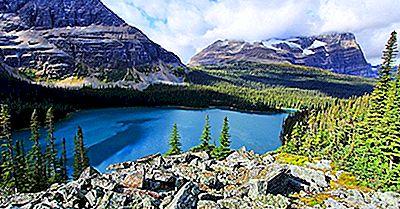 Os Sete Parques Nacionais E Reservas Do Parque Nacional Da Colúmbia Britânica