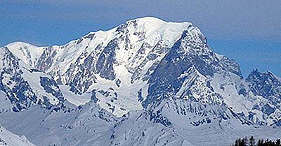 De Högsta Bergen I Alperna