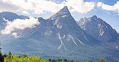 Las Montañas Más Altas De Alemania