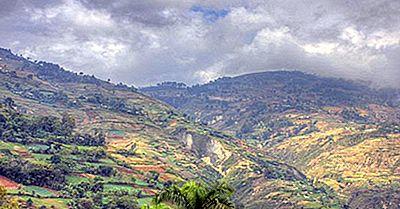 Las Montañas Más Altas En Haití