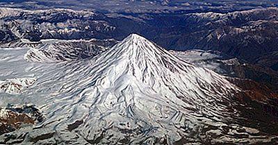 Las Montañas Más Altas En Irán