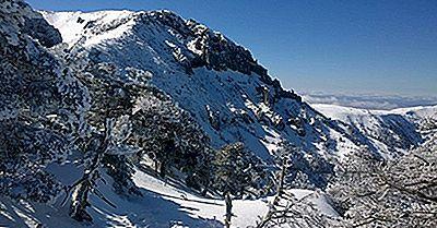 Les Plus Hautes Montagnes De Corée Du Sud