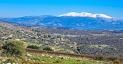 Montanhas Mais Altas Da Síria