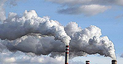 Estados Unidos Más Afectados Por La Contaminación Del Aire Industrial