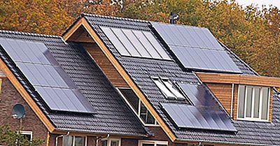 Statele Unite Cu Cel Mai Mare Număr De Case Cu Energie Solară