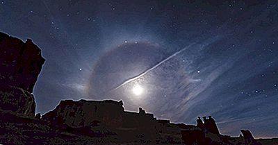 Vad Är En Månhalo?