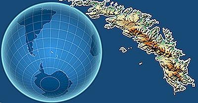 Onde Estão Localizadas As Ilhas Geórgia Do Sul E Sandwich Do Sul?