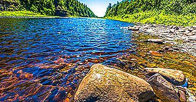¿Por Qué El Ancho De Un Río Aumenta A Medida Que Fluye Aguas Abajo?