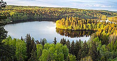 Varför Kallas Finland Ett Land Av Tusen Sjöar?
