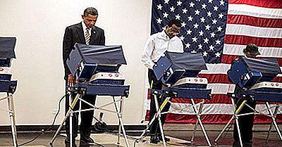 10 Estados Unidos Com Maior Participação Eleitoral
