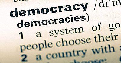 Las Diferentes Formas De Gobierno Por Atributos Democráticos