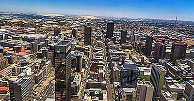 Las Provincias Más Grandes De Sudáfrica Por Área Y Por Población