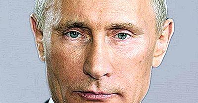 Presidenten Van Rusland Sinds De Val Van De Sovjet-Unie