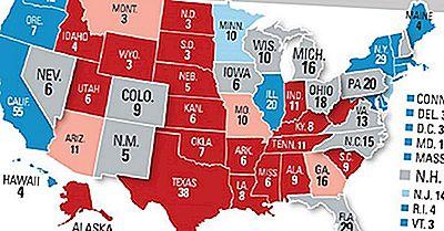 Estados Con La Mayor Cantidad De Votos Electorales En Las Elecciones Presidenciales De EE. UU. 2016