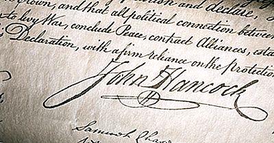 Quem Foi O Primeiro A Assinar A Declaração De Independência?