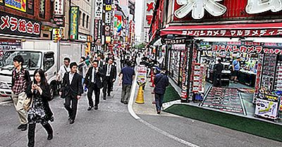 Japans befolkning minskar