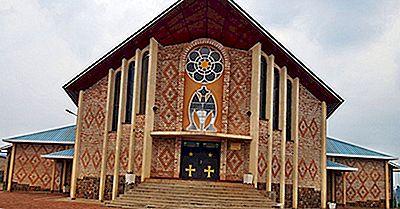 Afrikanske Lande Hvor Kristendommen Er Den Største Religion
