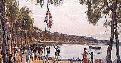 Les Plus Anciens Établissements Européens D'Australie