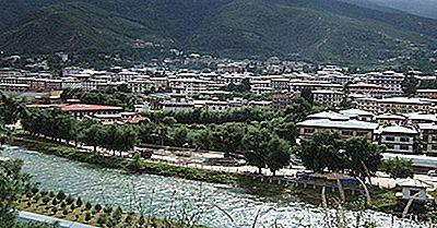 Maiores Cidades E Cidades No Butão