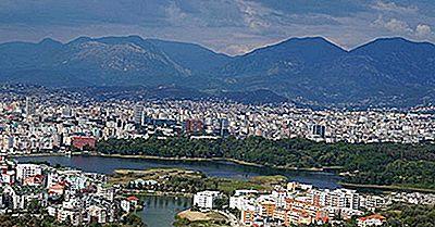 Största Städerna I Albanien
