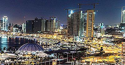 Le Più Grandi Città In Angola