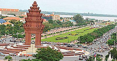Las Ciudades Más Grandes De Camboya