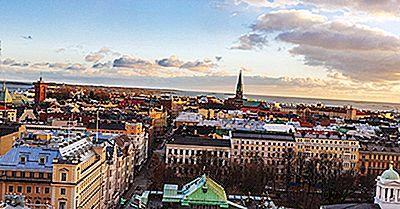 Le Più Grandi Città In Finlandia