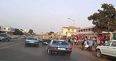 Le Più Grandi Città Della Guinea-Bissau