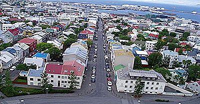 Las Ciudades Más Grandes En Islandia