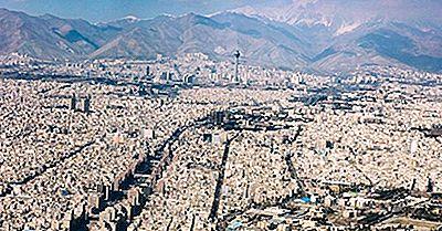 Las Ciudades Más Grandes En Irán