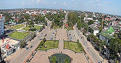 Las Ciudades Más Grandes De Laos