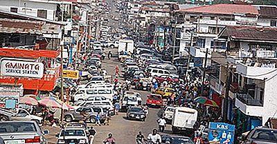 Les Plus Grandes Villes Du Libéria