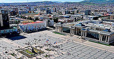 Las Ciudades Más Grandes En Mongolia