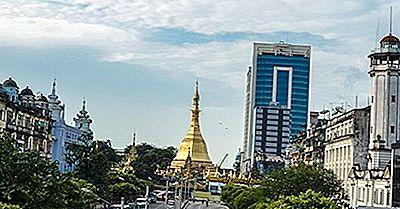 Le Più Grandi Città Del Myanmar (Birmania)