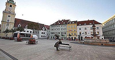 Største Byer I Slovakiet