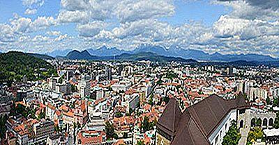 Le Più Grandi Città In Slovenia