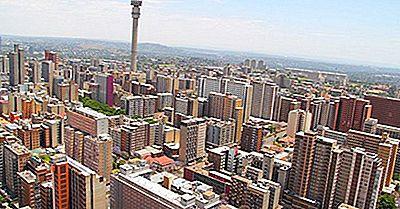 Største Byer I Sydafrika