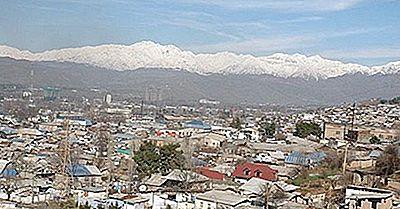 Le Più Grandi Città In Tagikistan