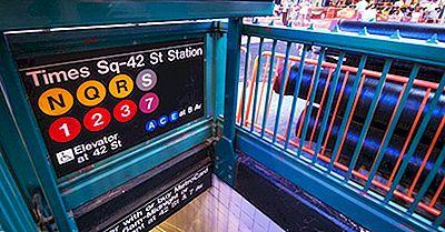 Les Stations De Métro Les Plus Occupées De New York