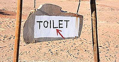 Países Com O Menor Número De Banheiros Per Capita