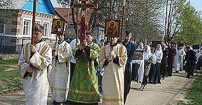 Länder Med De Mest Ortodoxa Kristna