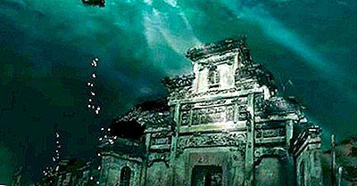 A Cidade Afogada De Shicheng - Lugares Únicos Em Todo O Mundo