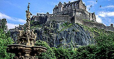 Castelul Edinburgh - Locuri Unice În Lume