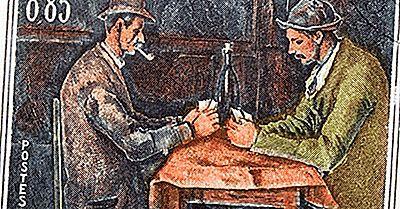 Arte Famosa: Os Jogadores De Cartas