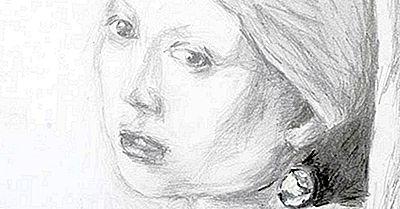 Berühmte Kunstwerke Mädchen Mit Einem Perlenohrring