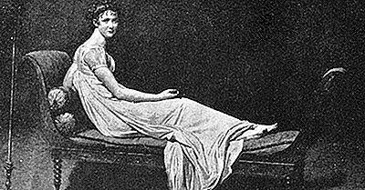 Ilustraciones Famosas: El Retrato De Madame Récamier