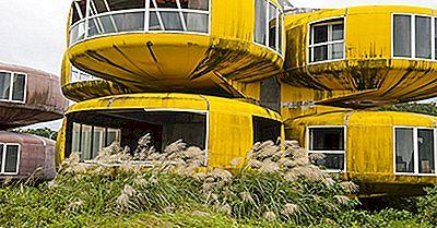 Futuro Houses - Futuro Ufo Inspirado Vivendo