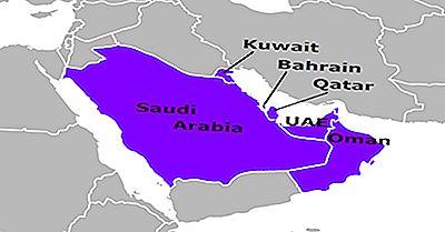 Países Do Conselho De Cooperação Do Golfo (GCC)