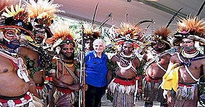 The Huli People Of Papua New Guinea E I Loro Drammatici Copricapo